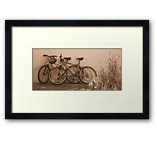 Time to rest Framed Print