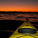 First light paddle by Al Williscroft