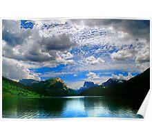 Blue Reservoir Poster