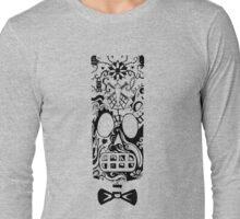 Calavera Black Long Sleeve T-Shirt