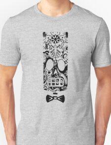 Calavera Black Unisex T-Shirt
