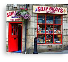 Silly Billy Canvas Print