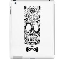 Calavera Black iPad Case/Skin
