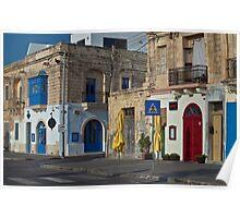 Colourfull Xlokk, Malta Poster