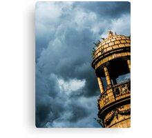 Orange Tower, Blue Sky Canvas Print