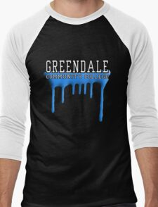 Community - Greendale Paintball Blue Men's Baseball ¾ T-Shirt