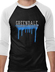 Community - Greendale Paintball Blue Men's Baseball ¾ T-Shirt