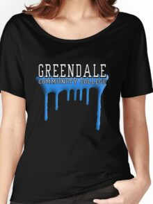 Community - Greendale Paintball Blue Women's Relaxed Fit T-Shirt