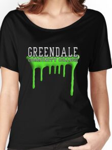 Community - Greendale Paintball Green Women's Relaxed Fit T-Shirt