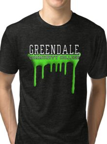 Community - Greendale Paintball Green Tri-blend T-Shirt