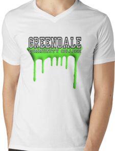 Community - Greendale Paintball Green Mens V-Neck T-Shirt