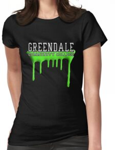 Community - Greendale Paintball Green Womens Fitted T-Shirt