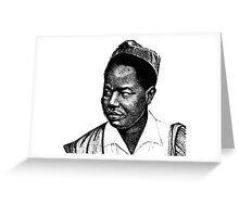Ahmadou Ahidjo-Cameroon Greeting Card