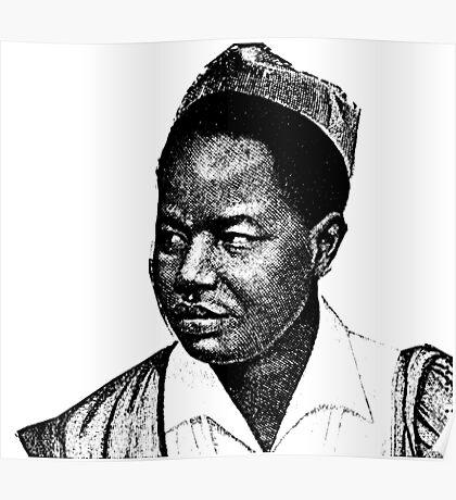 Ahmadou Ahidjo-Cameroon Poster