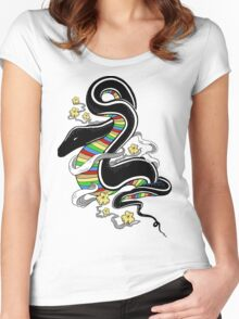 Many Colors Women's Fitted Scoop T-Shirt