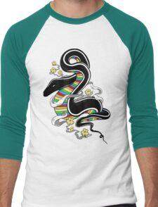 Many Colors Men's Baseball ¾ T-Shirt