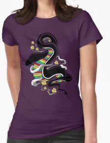 Many Colors Womens Fitted T-Shirt