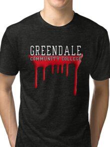 Community - Greendale Paintball Red Tri-blend T-Shirt
