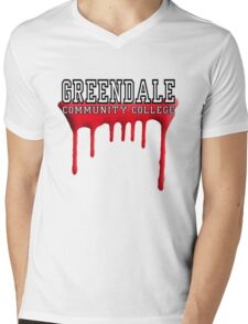 Community - Greendale Paintball Red Mens V-Neck T-Shirt