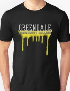 Community - Greendale Paintball Yellow T-Shirt