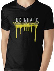 Community - Greendale Paintball Yellow Mens V-Neck T-Shirt