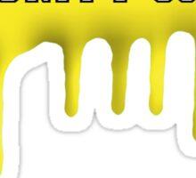 Community - Greendale Paintball Yellow Sticker