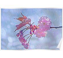 Whispering blossoms Poster