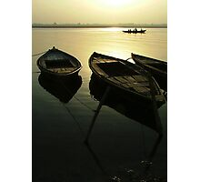Boats of the Ganges Photographic Print