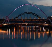River Tyne at dusk by dlsmith