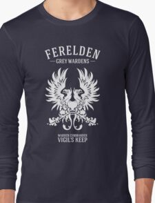 Grey Wardens - Warden Commander (light) Long Sleeve T-Shirt