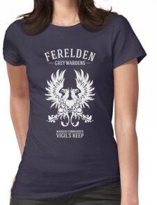 Grey Wardens - Warden Commander (light) Womens Fitted T-Shirt