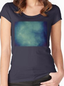 Smoke Texture with Paper Texture 2 Women's Fitted Scoop T-Shirt