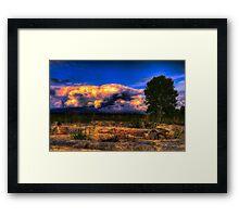 Dawn Cracking (Same Source HDRI Challenge) Framed Print
