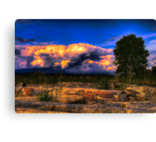 Dawn Cracking (Same Source HDRI Challenge) Canvas Print