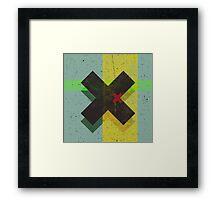 CROSS Framed Print