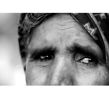 Eyes of Poverty Photographic Print