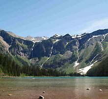 Avalanche Lake, Glacier National Park by BeckyMP