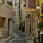 La Castellet Village by Stephen  Saysell