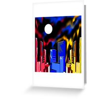 """IntenseCity: Aurora Borealis"" Greeting Card"