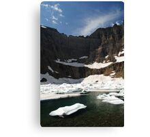 Iceberg Lake, Many Glacier Canvas Print