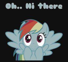 Rainbow Dash says Hi