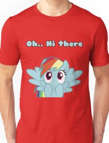 Rainbow Dash says Hi Unisex T-Shirt