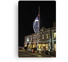 Spinnaker Tower and Old Customs House Portsmouth Canvas Print