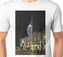 Spinnaker Tower and Old Customs House Portsmouth Unisex T-Shirt