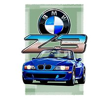 BMW Z3 Blue by davidkyte