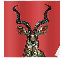 antelope red Poster