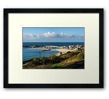 Late August Morning ~ Lyme Regis Framed Print