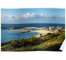Late August Morning ~ Lyme Regis Poster