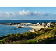 Late August Morning ~ Lyme Regis Photographic Print