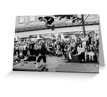 Street Performer I Greeting Card